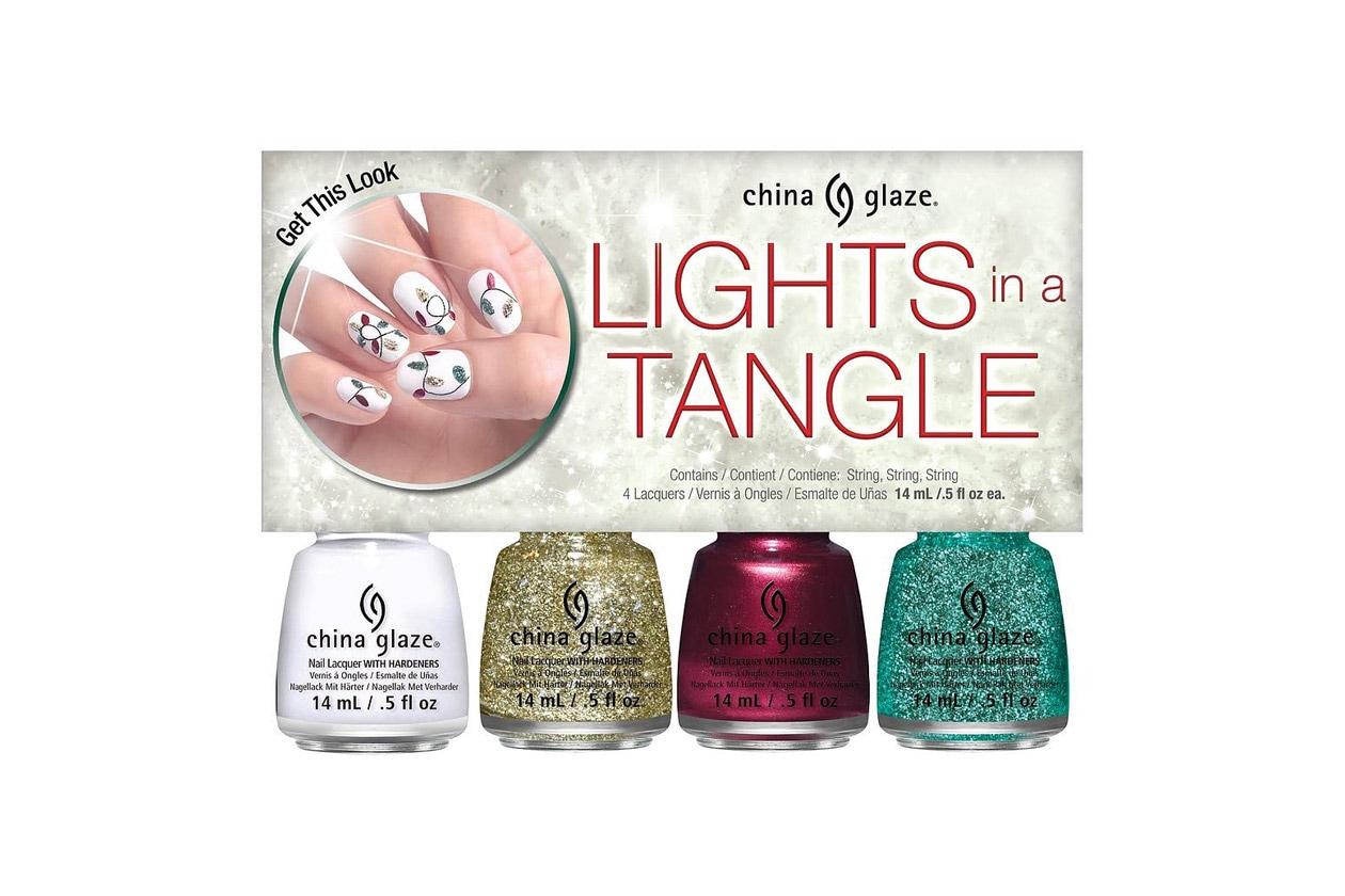China Glaze Lights in A Tangle