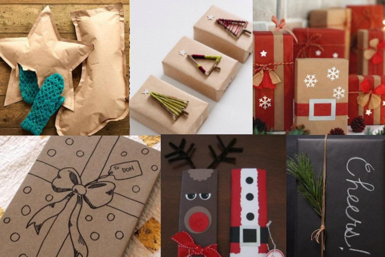 Pacchetti di Natale: tante idee originali per incartare i regali
