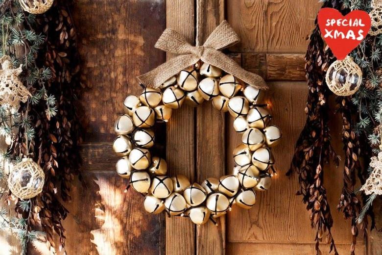 Una ghirlanda per decorare la casa per Natale