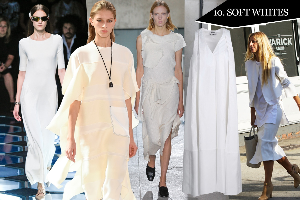 10. Soft whites