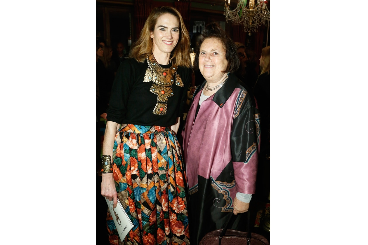 A10 JJ Martin and Vogue's Suzy Menkes