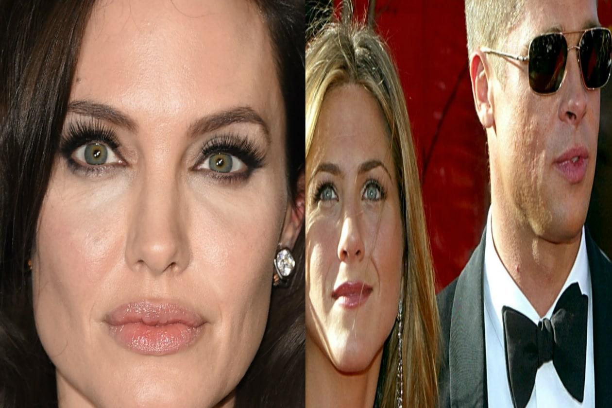 Angelina Jolie sarebbe capace di far lasciare Carlo e Camilla, figuriamoci Jennifer e Brad!