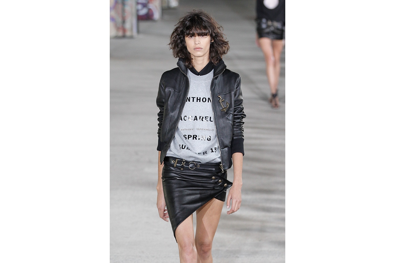 BEAUTY capelli medi PE 2015 Anthony Vaccarello ful W S15 P 003
