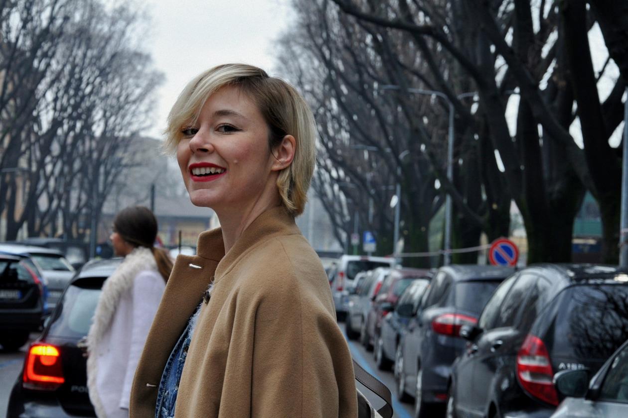 Beauty on the streets: Lucia del Pasqua con il suo pixie cut