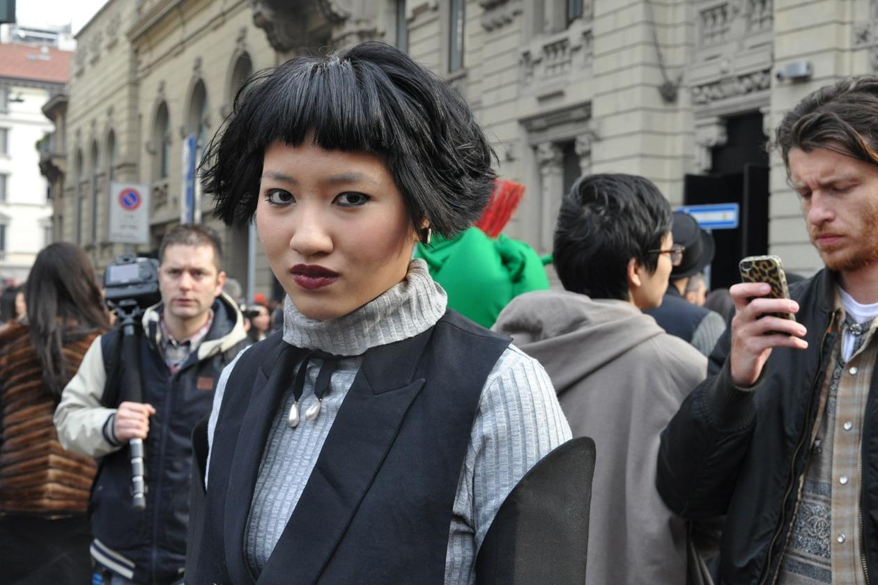 Beauty on the streets: frangia geometrica