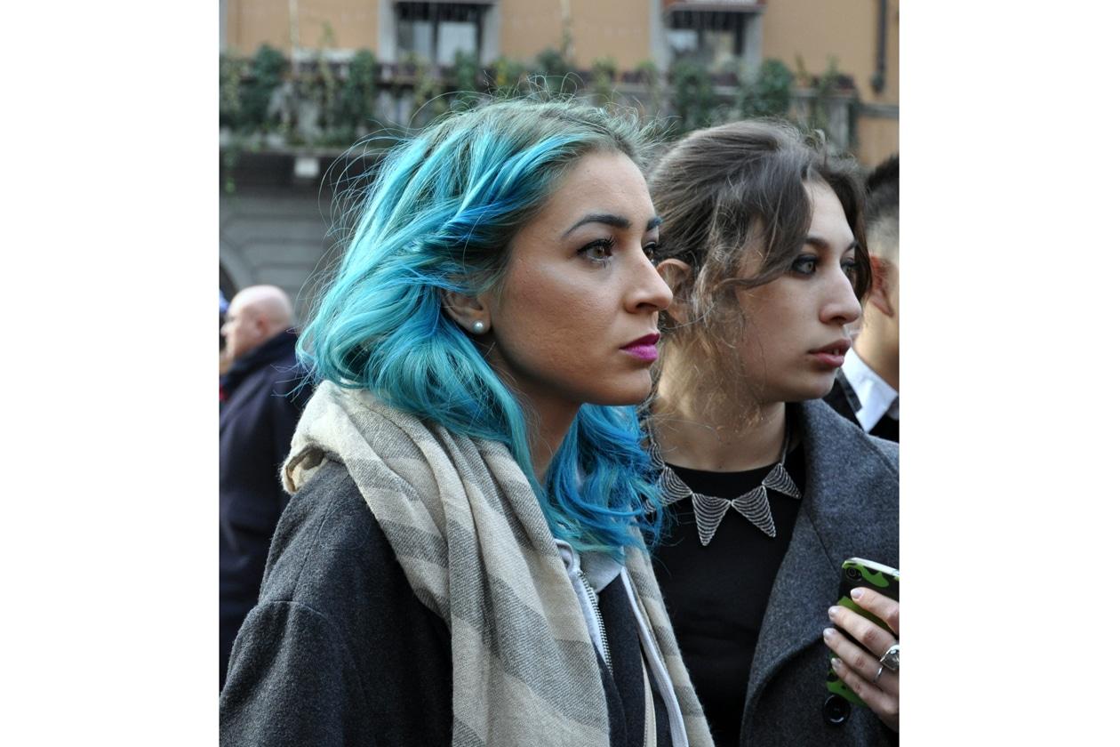 Beauty on the streets: mermaid hair