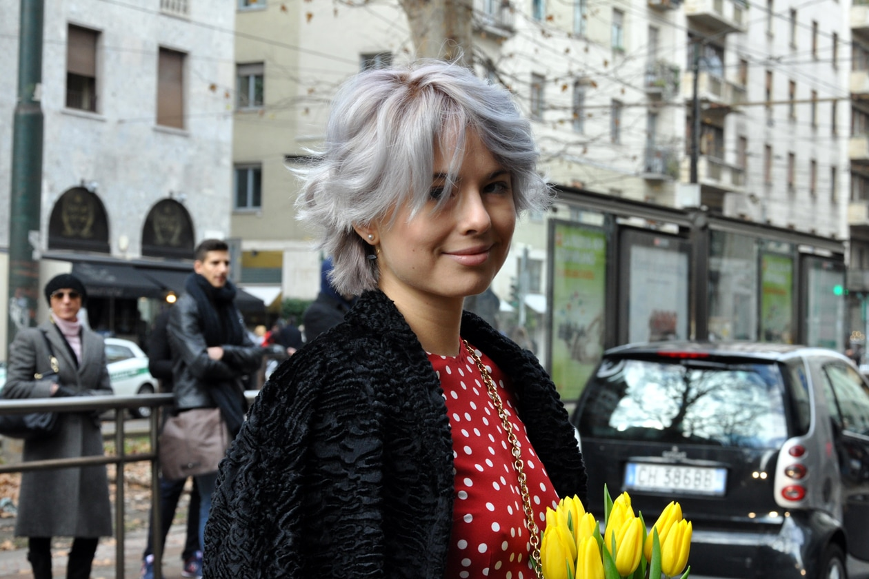 Beauty on the streets: washed hair
