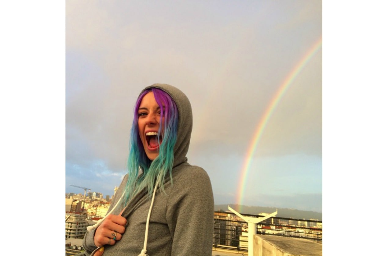 CHLOE NORGAARD: RAINBOW INSIDE AND OUTSIDE