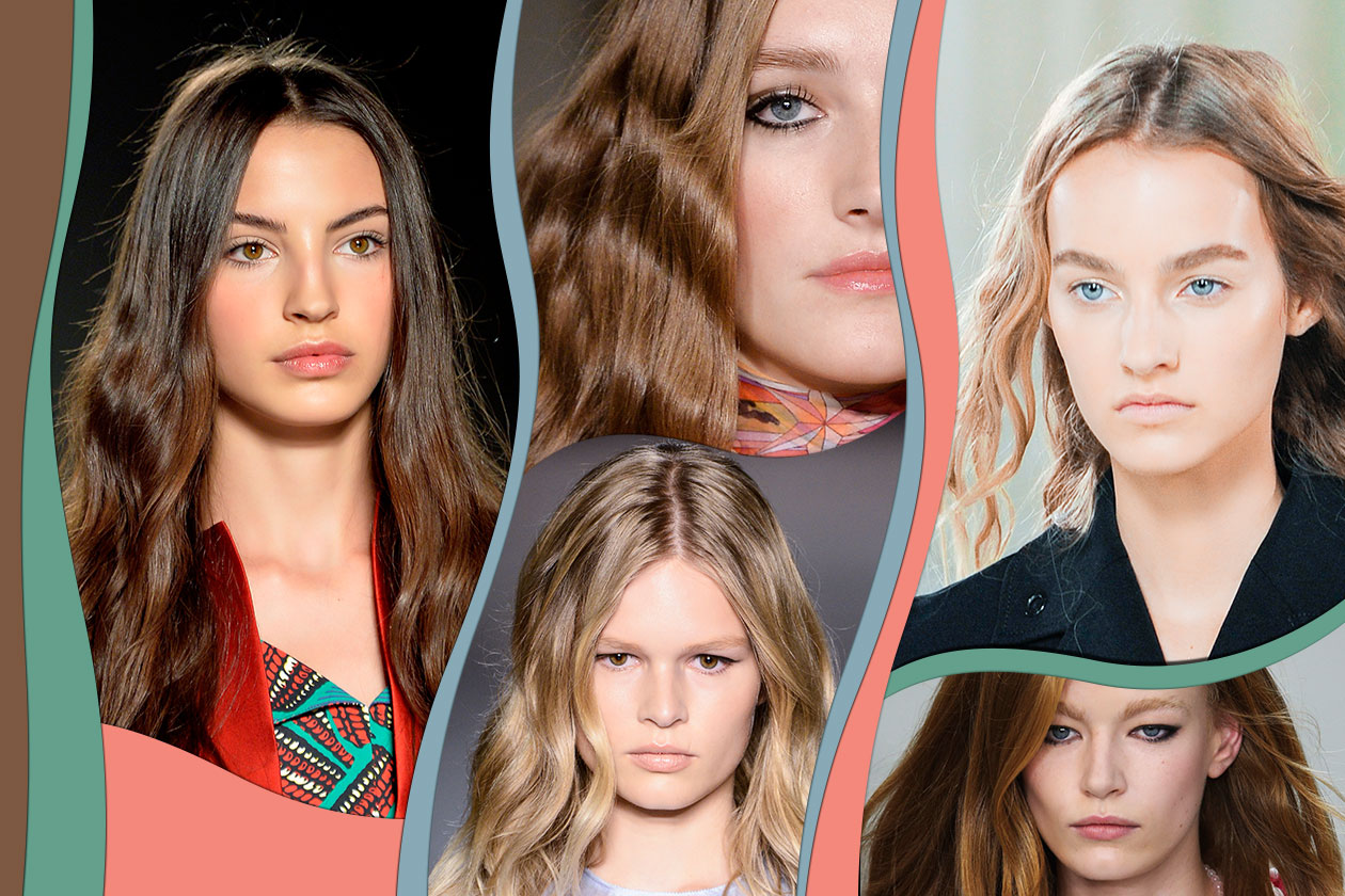 "Capelli mossi: chioma in movimento con la tendenza ""wavy"" per la Primavera/Estate 2015"