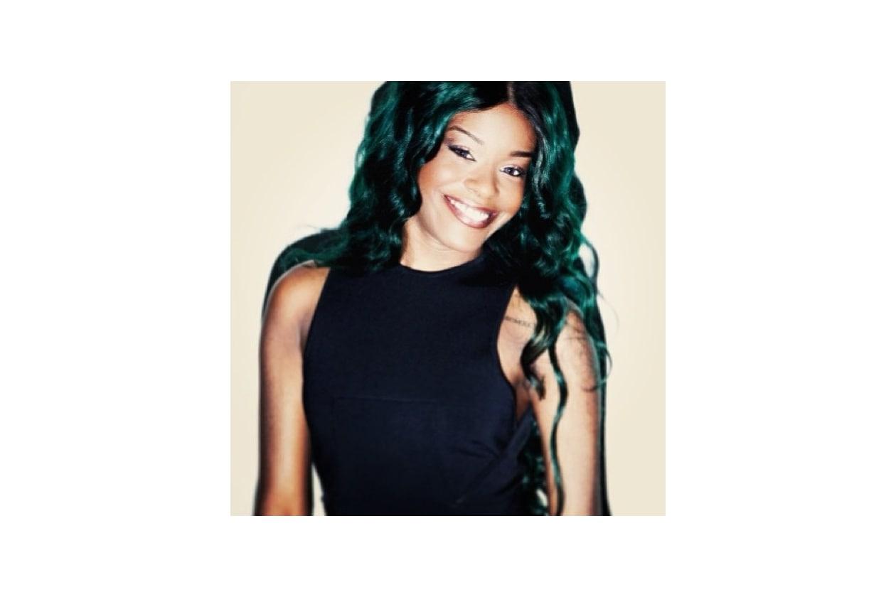 Capelli verdi delle star: Azealia Banks