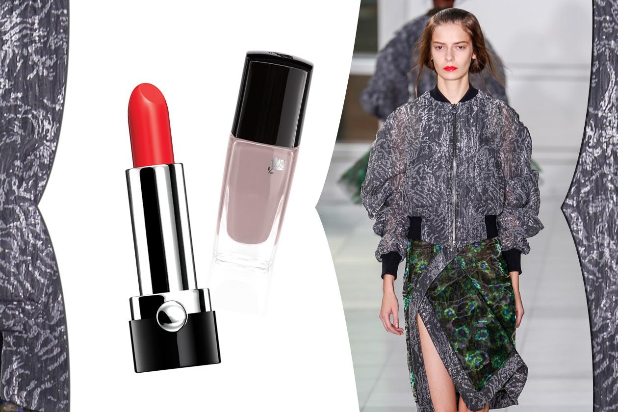 Cinquanta sfumature di grigio beauty&fashion: con un tocco di rosso hot