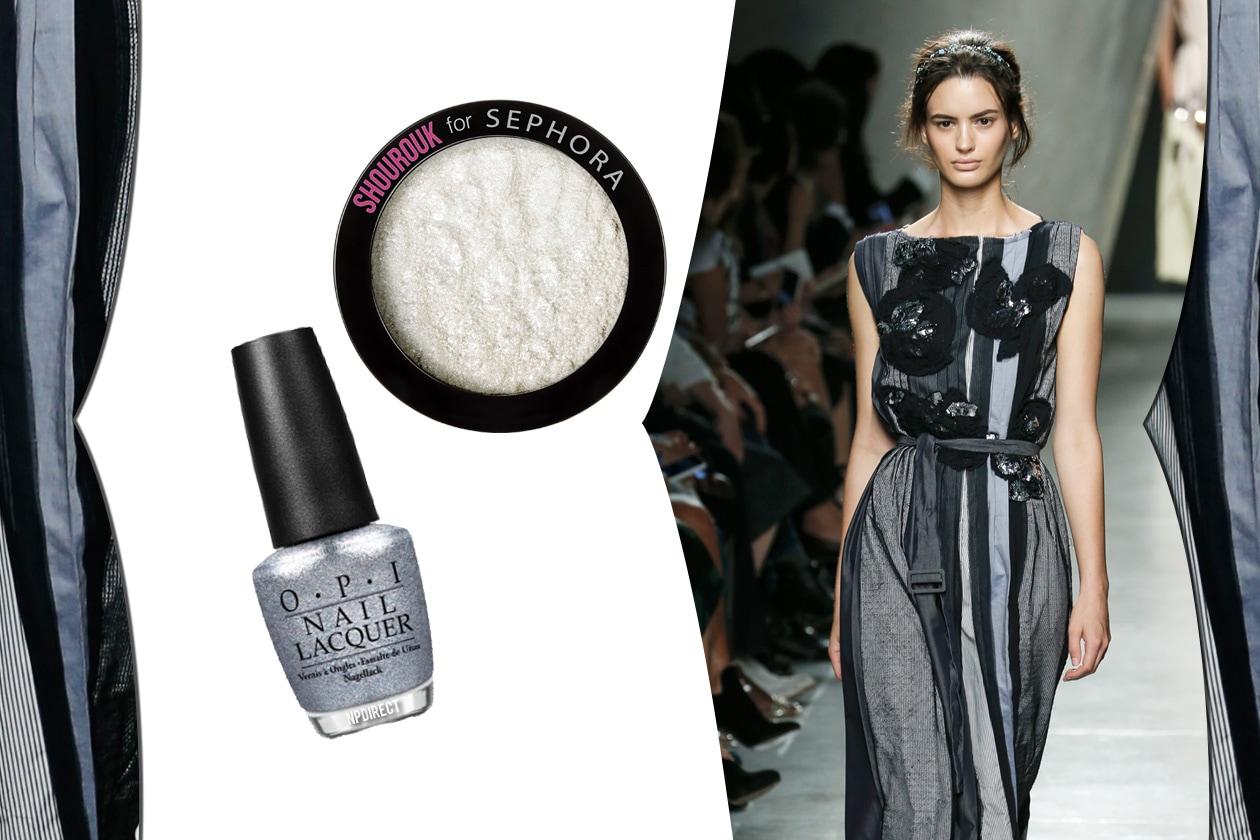 Cinquanta sfumature di grigio beauty&fashion: look extra shimmer