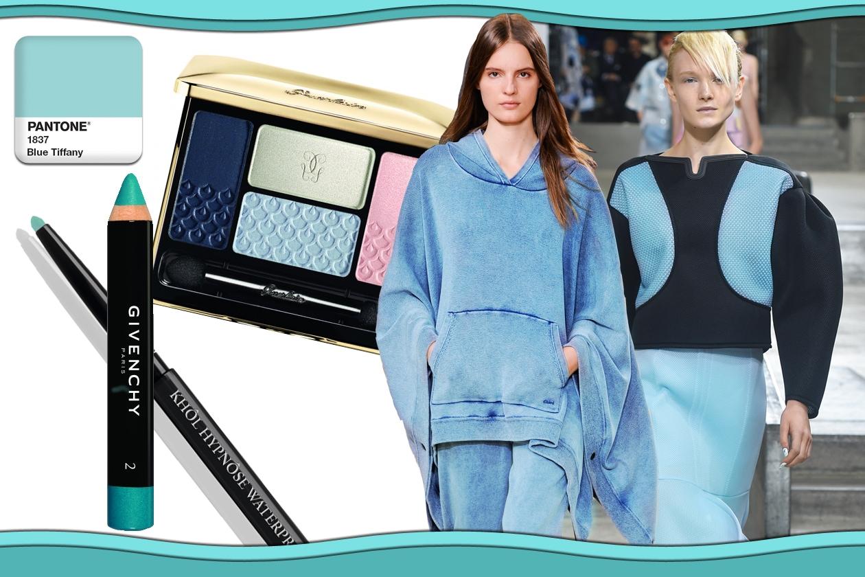 Colori Pantone primavera/estate 2015 Beauty&Fashion: Acquamarina