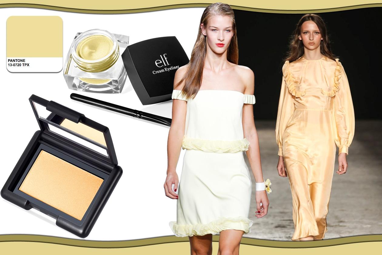Colori Pantone primavera/estate 2015 beauty&fashion: Custard