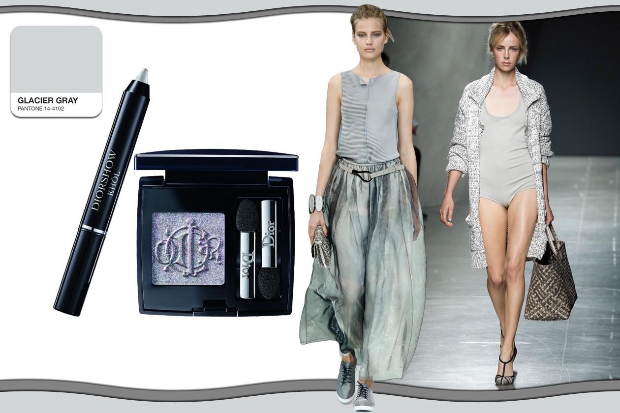 Colori Pantone primavera/estate 2015 beauty&fashion: Glacier Grey