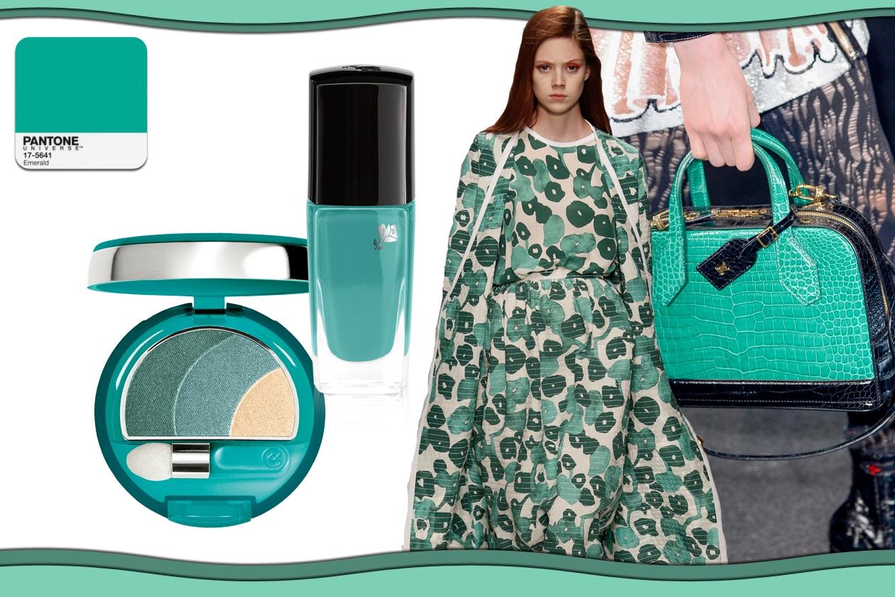 Colori Pantone primavera/estate 2015 beauty&fashion: Lucite Green