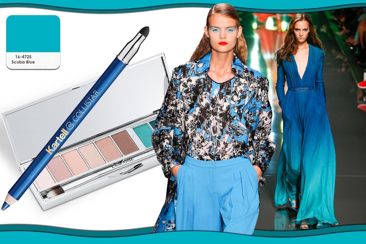 Colori Pantone primavera/estate 2015 beauty&fashion: Scuba Blue