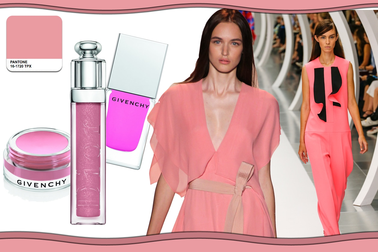 Colori Pantone primavera/estate 2015 beauty&fashion: Strawberry ice