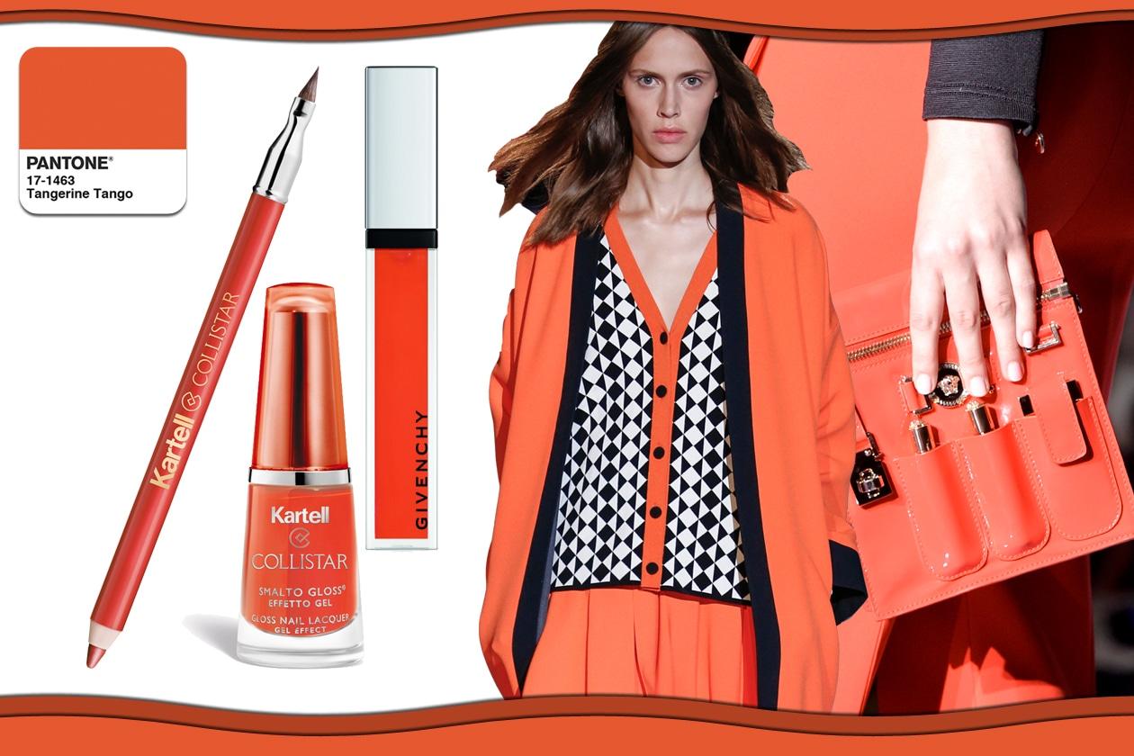 Colori Pantone primavera/estate 2015 beauty&fashion: Tangerine