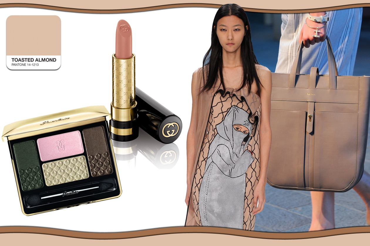 Colori Pantone primavera/estate 2015 beauty&fashion: Toasted Almond