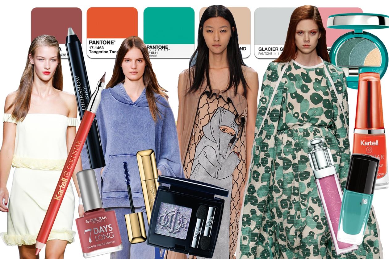 63d2f5b3914e Colori Pantone primavera estate 2015  tutti gli abbinamenti beauty fashion  proposti da Grazia.it