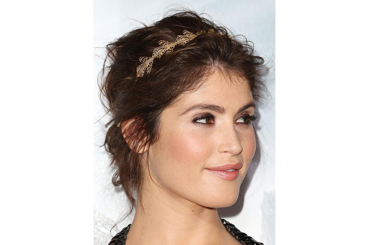Gemma Arterton hairstyle: gennaio 2013