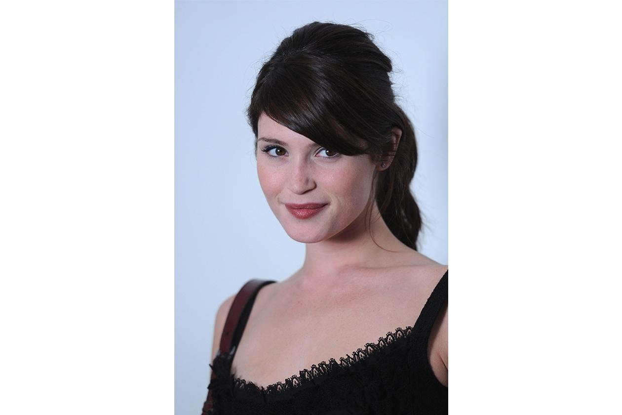 Gemma Arterton hairstyle: luglio 2010