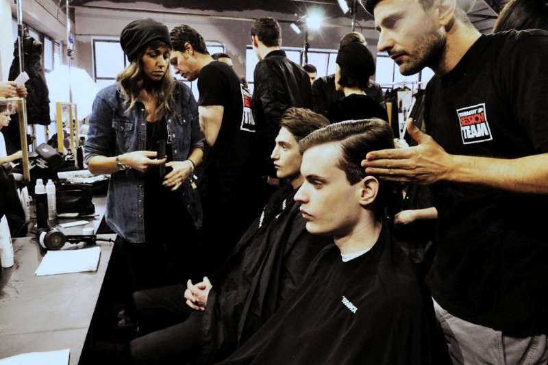 Gli hair stylists di Toni&Guy