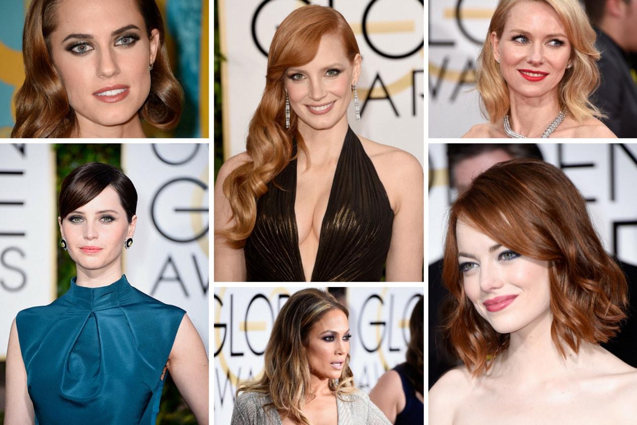 Golden Globes 2015: i migliori beauty look