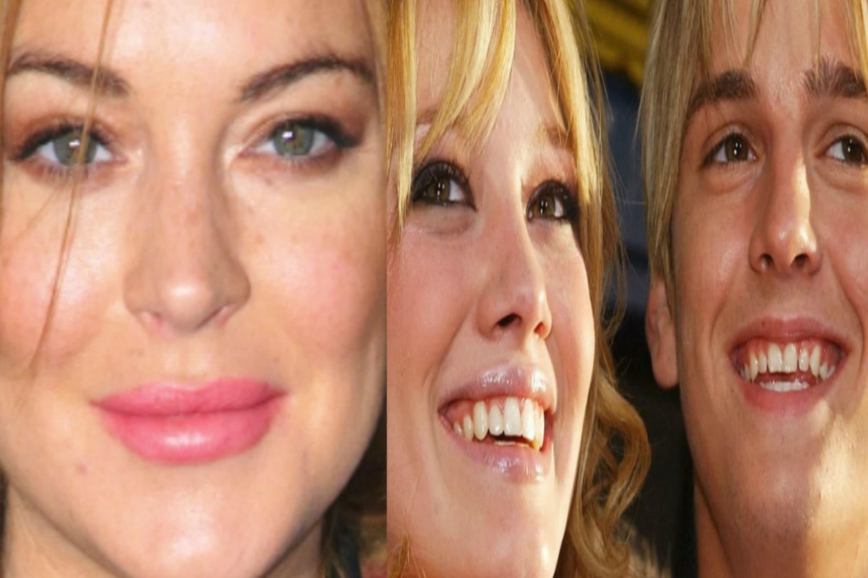 Hilary Duff e Aaron Carter facevano coppia fissa ma l'impunita Lindsay Lohan si è messa in mezzo e li ha divisi