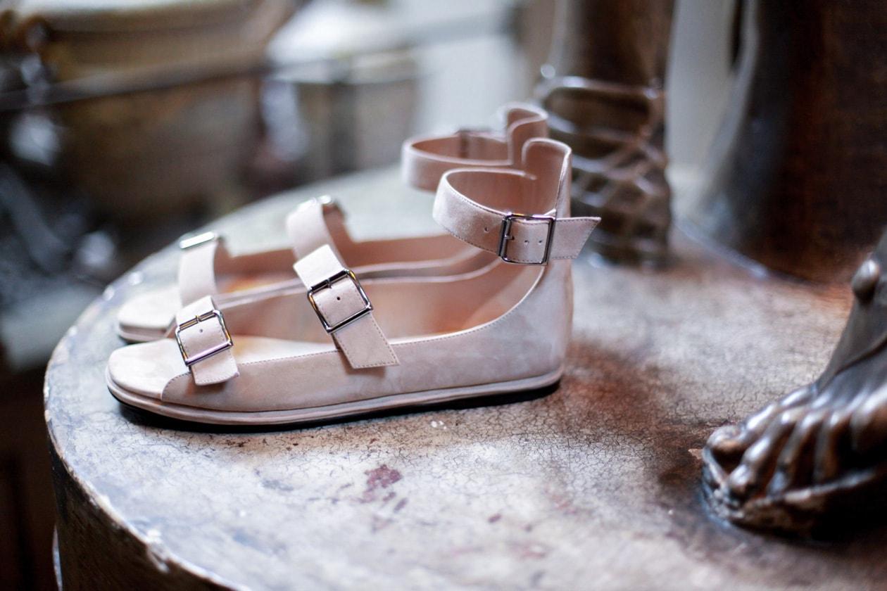 I sandali 'gladiatore' di Manolo Blahnik