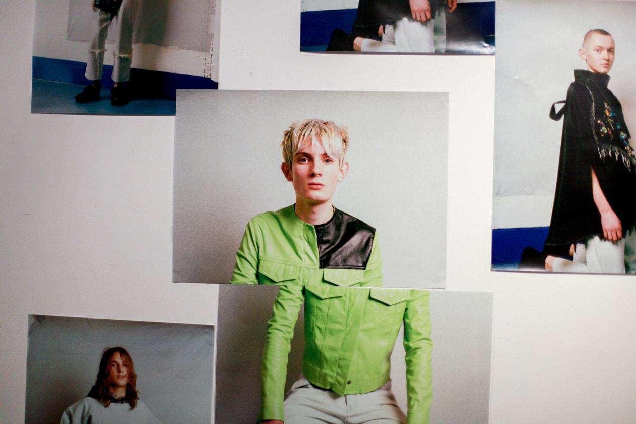 Il muro di foto e inspirazione di Marques Almeida