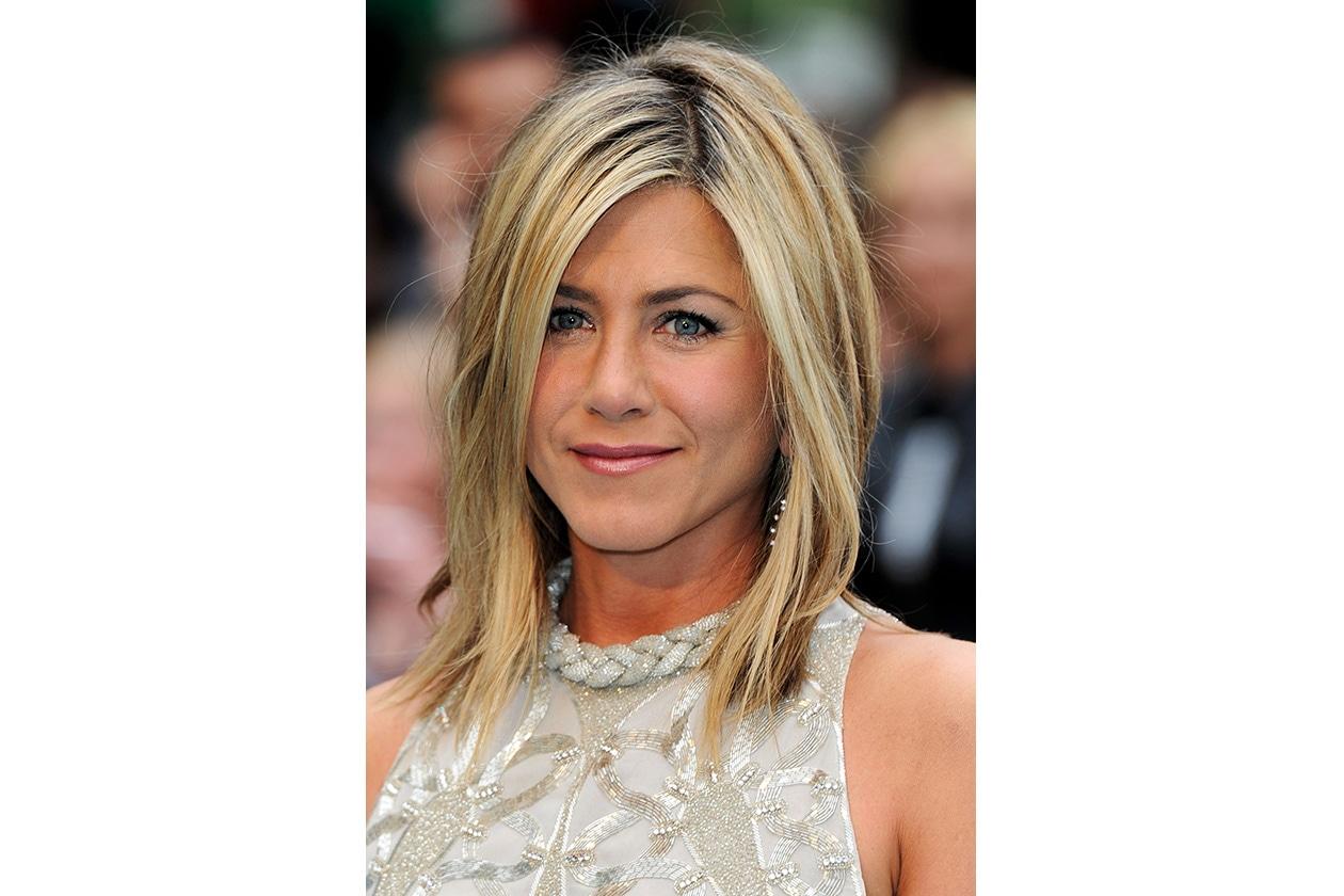 Jennifer Aniston capelli: luglio 2011
