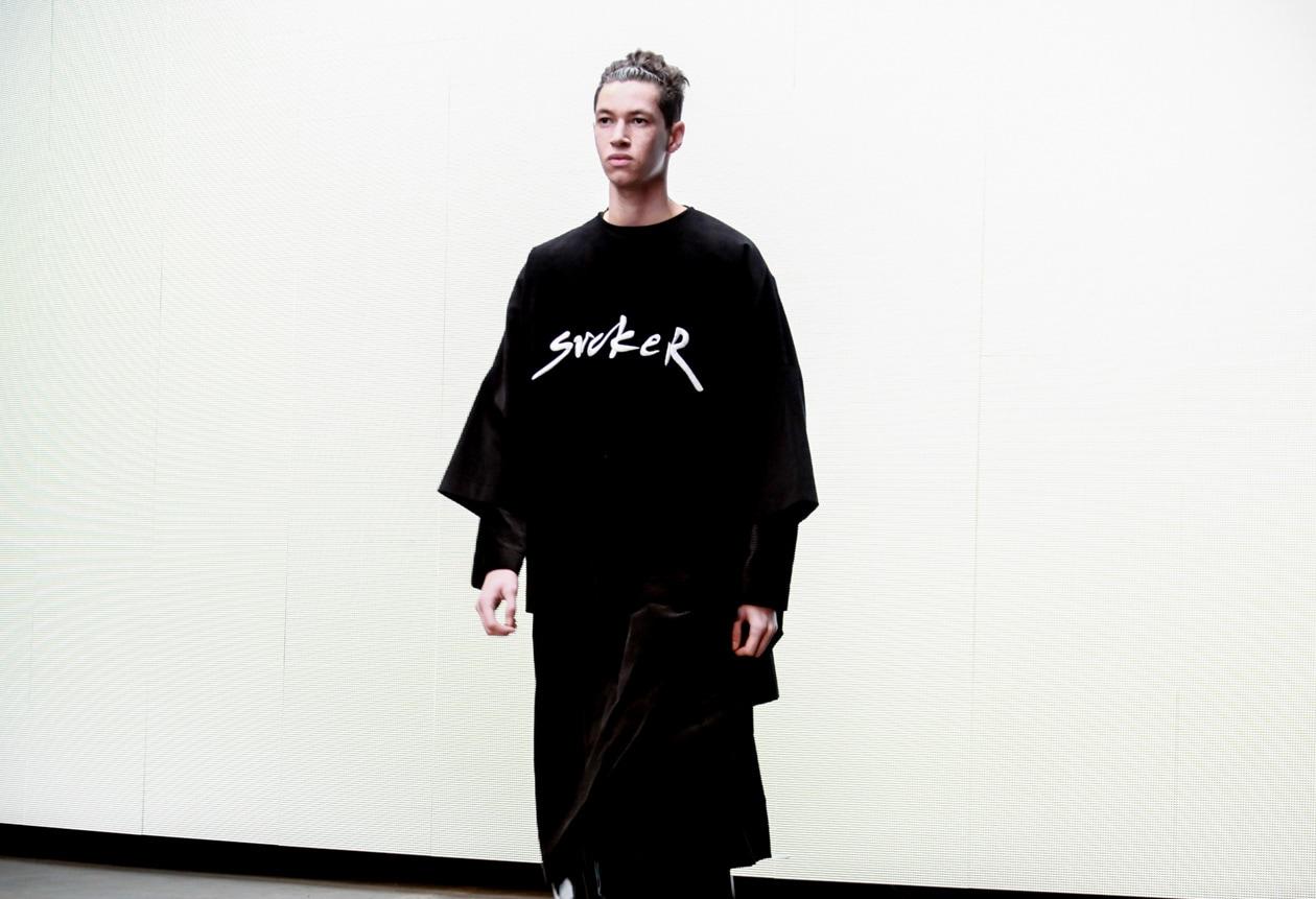 Logo e streetwear sempre presenti da MAN