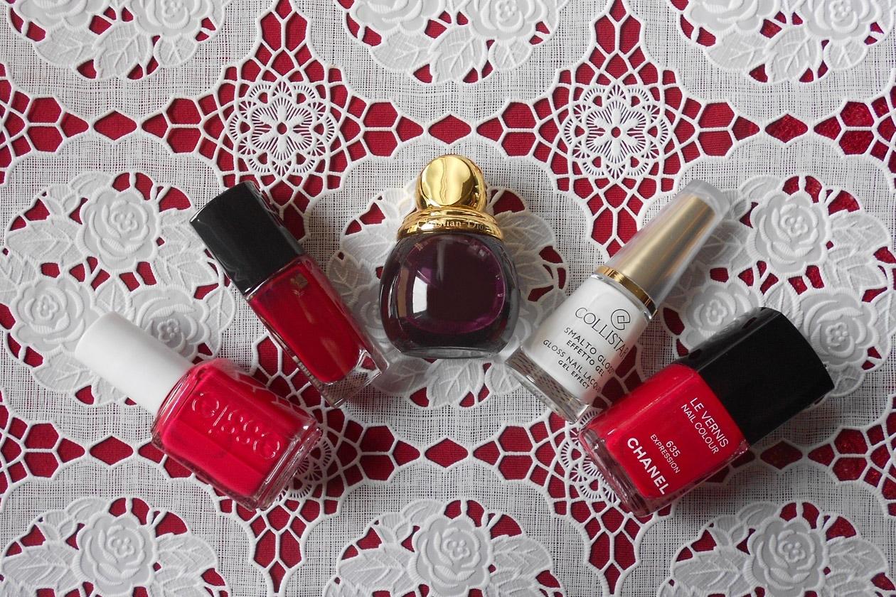 Manicure di San Valentino: gli smalti utilizzati