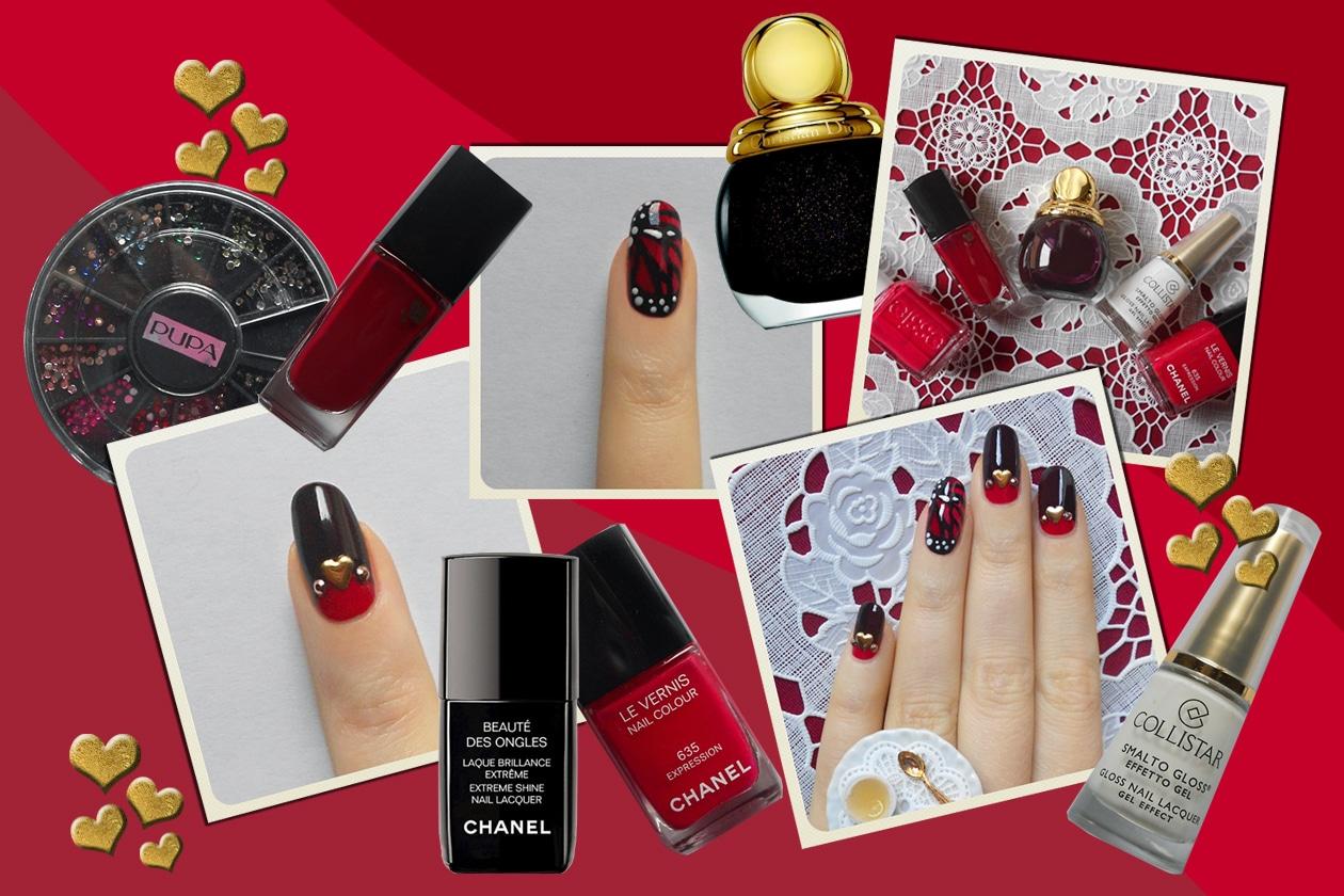 Manicure di San Valentino: la proposta nail art da Non solo Kawaii e Grazia.IT