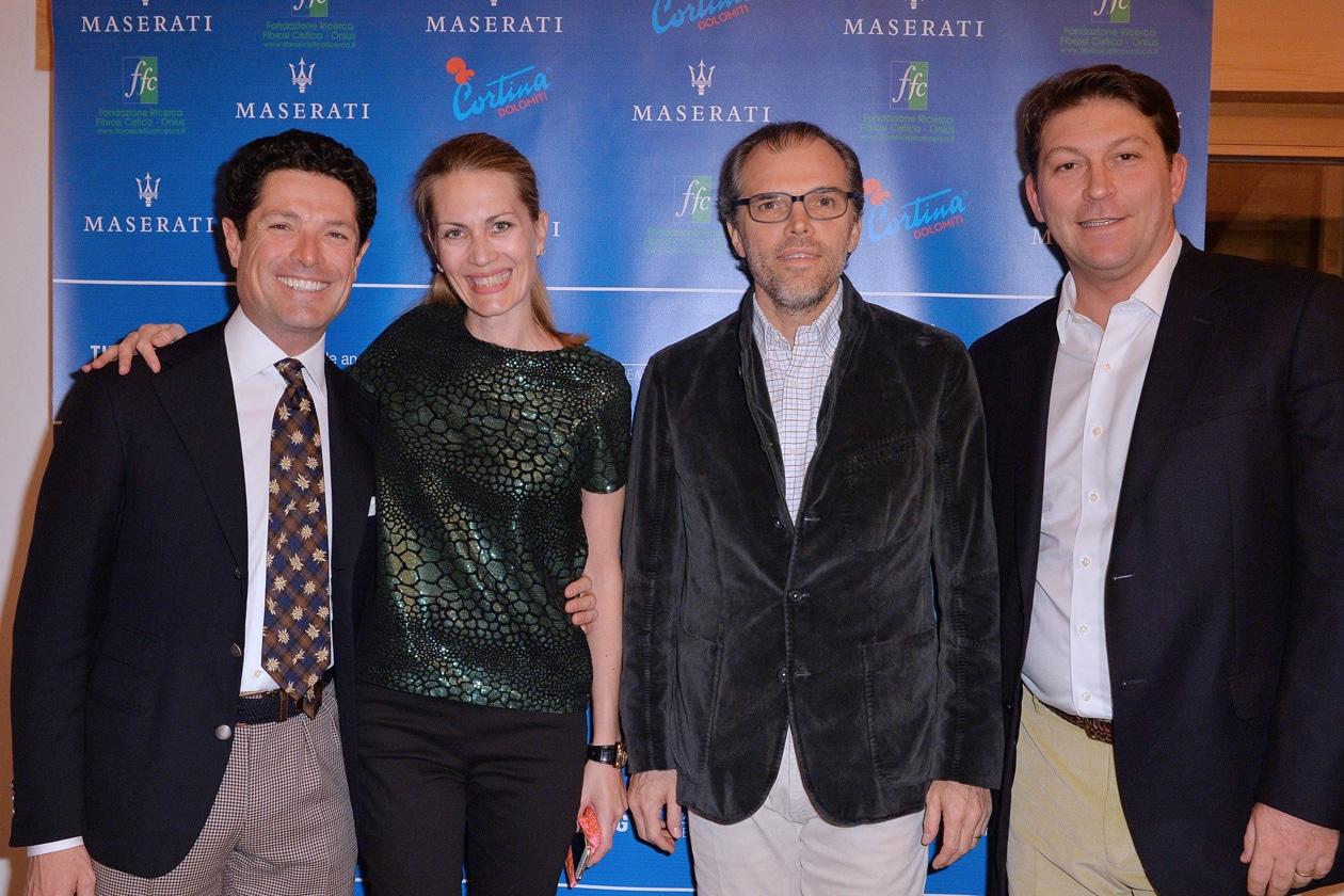 Matteo Marzotto;Isabella Borromeo;Ugo Brachetti Peretti;Giulio Pastore MNT 2823