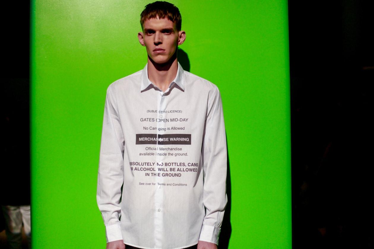 Messagi direttamente sulla camicia da Soulland