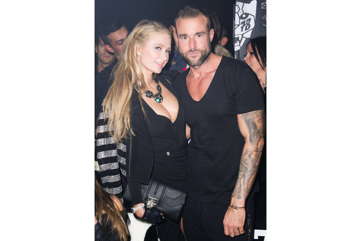PHILIPP PLEIN men ›s AW1516 fashion show @BFANYC Paris Hilton , Philipp Plein(42)