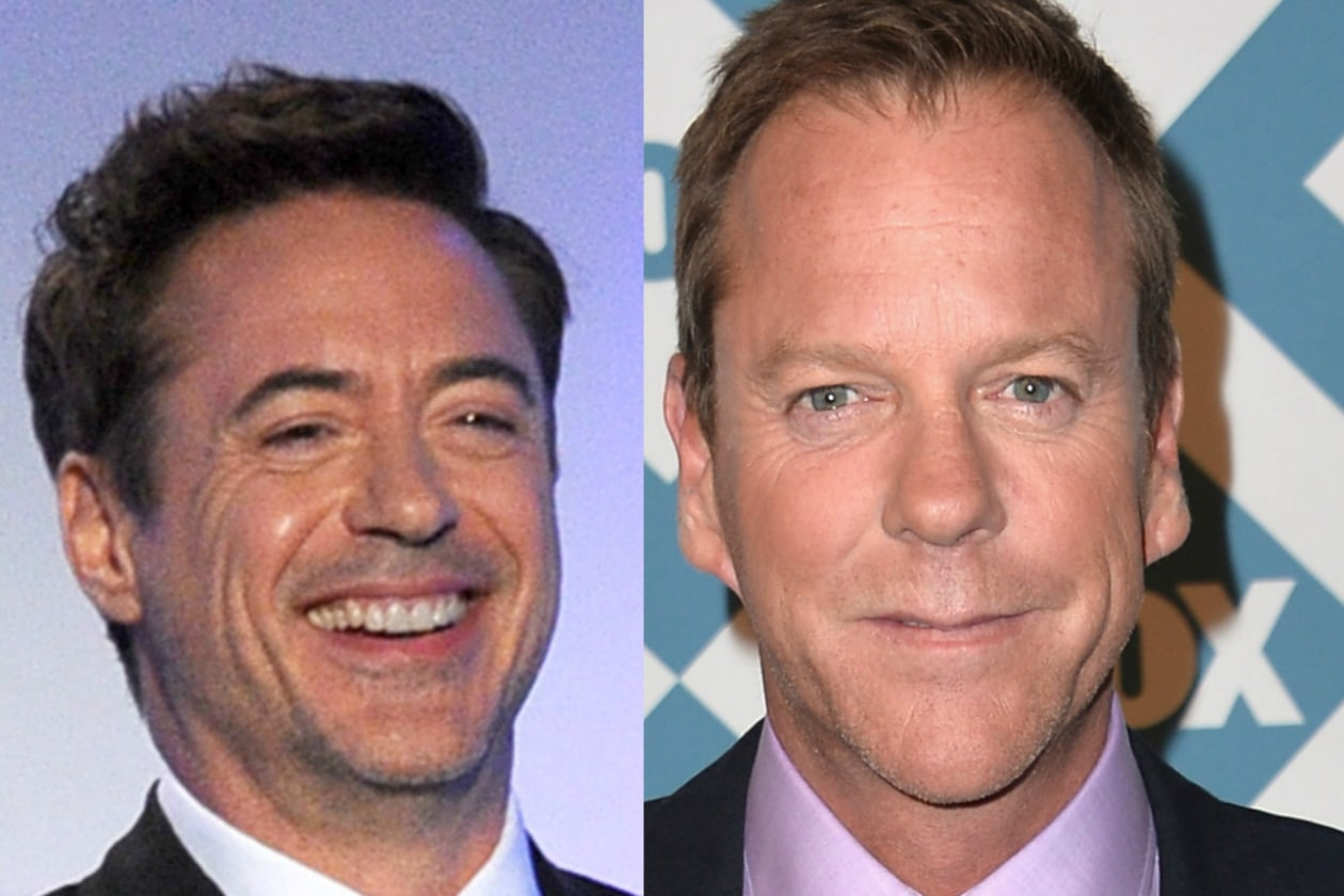 Robert Downey Jr. e Kiefer Sutherland