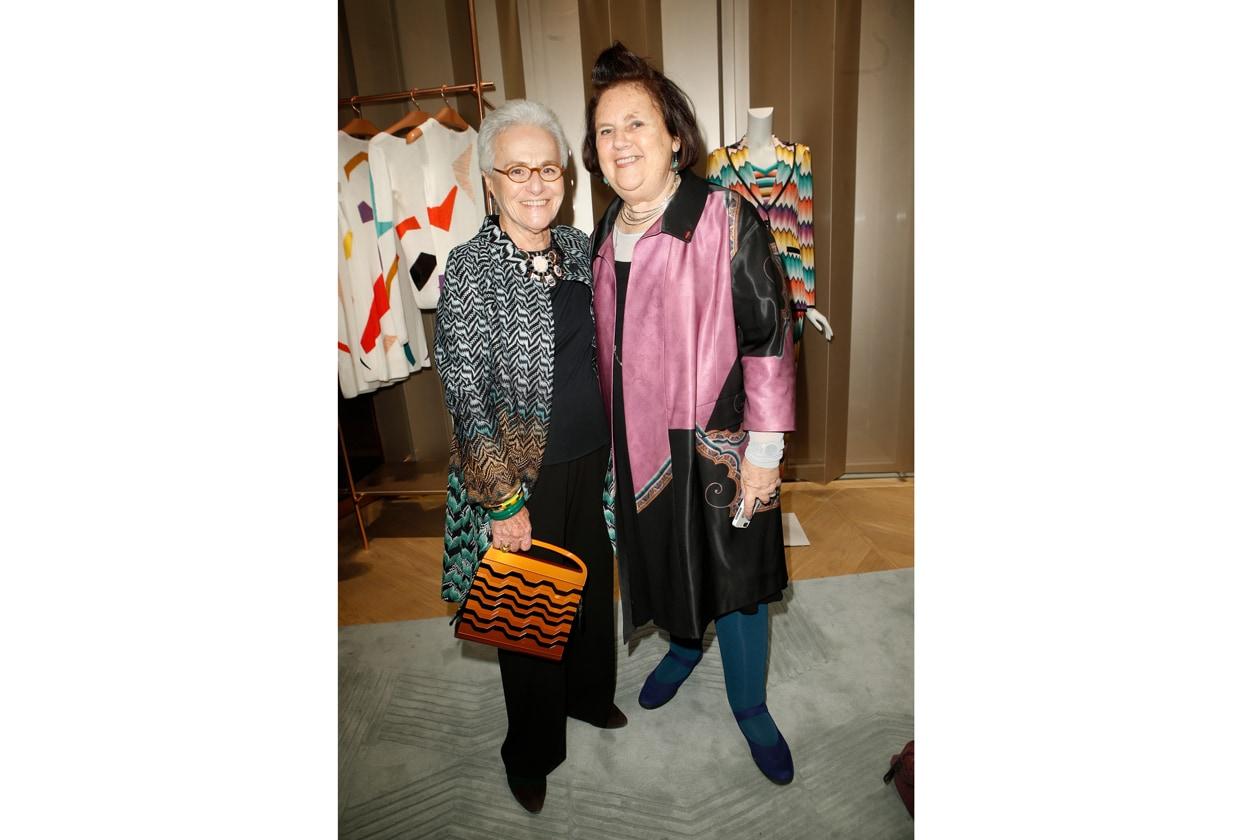 Rosita Missoni & Suzy Menkes