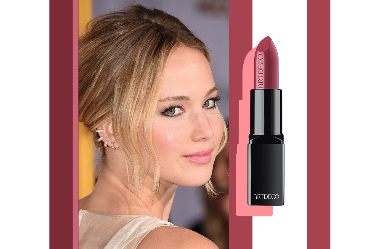 Rossetti opachi: rosa come Jennifer Lawrence