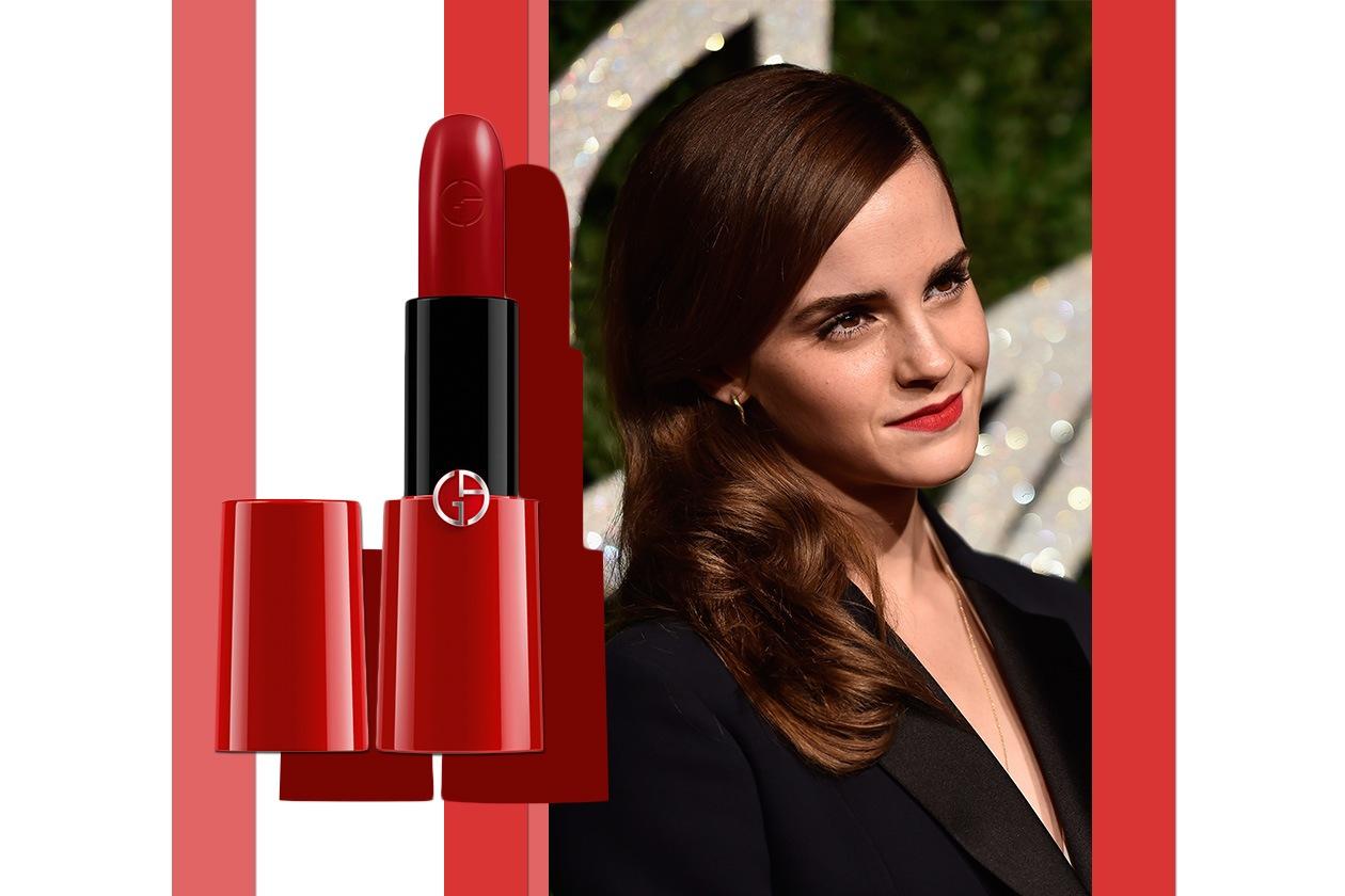 Rossetti opachi: rosso come Emma Watson