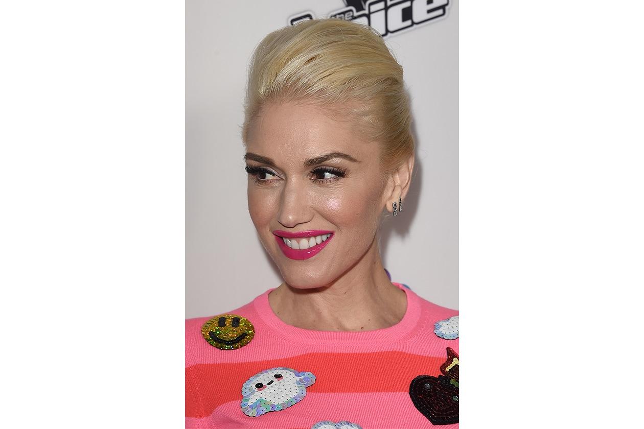 Rossetti per denti più bianchi: Gwen Stefani