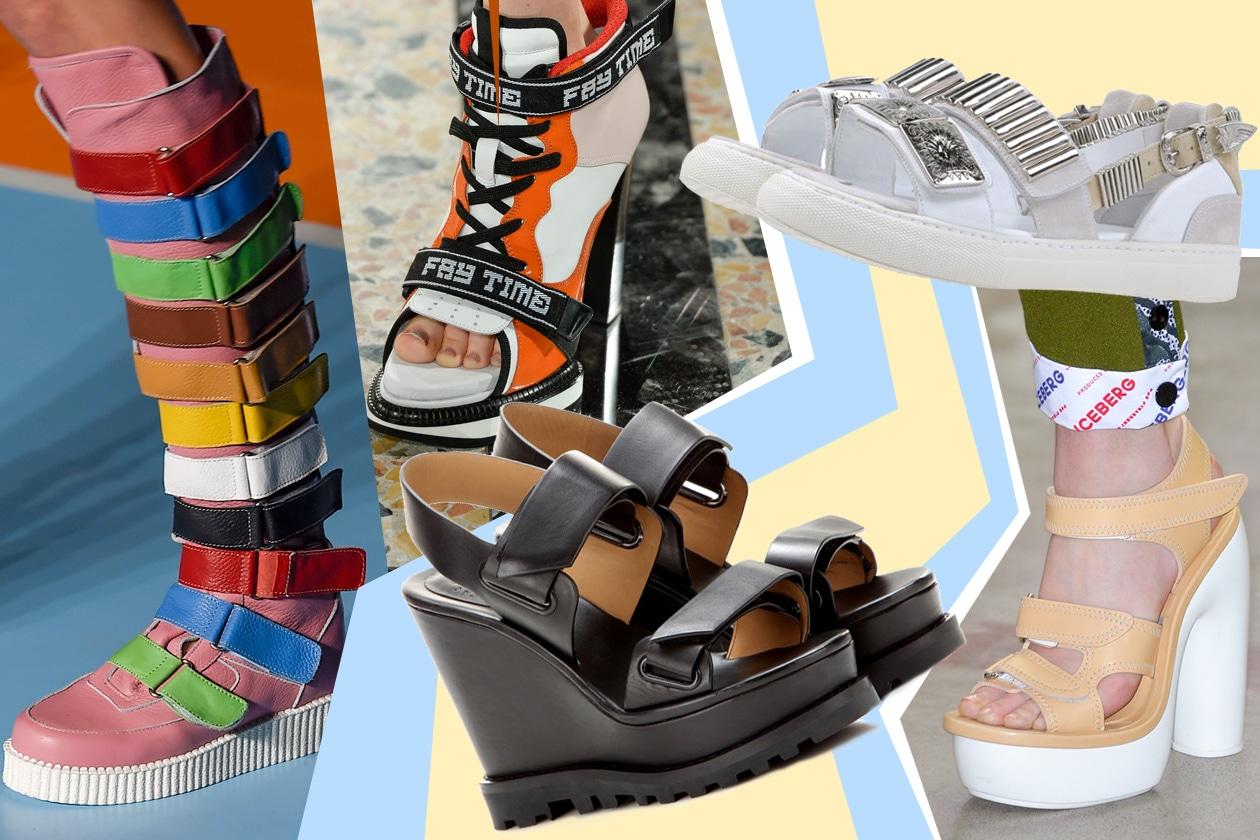 STRAPPI EVERYWHERE: sneakers o sandaletti che siano, torna la praticità