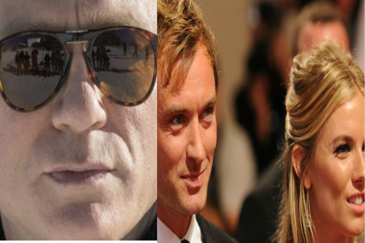 Sienna Miller e Jude Law erano innamoratissimi fino a quando la «sindrome Hugh Grant non ha colpito» Jude e la povera Sienna si è dovuta vendicare con Bond, James Bond