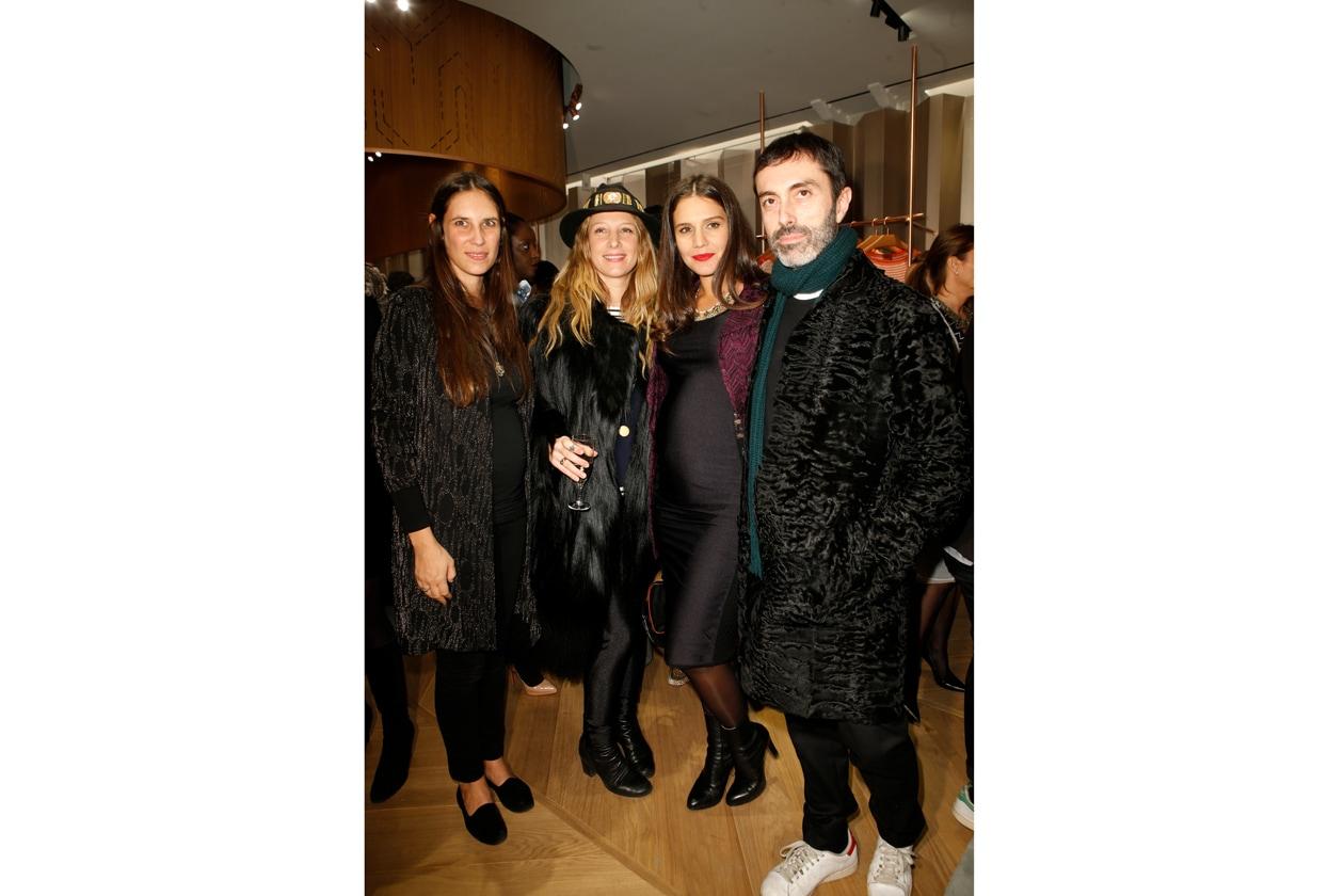 Tatiana Santo Domingo & Cecilia Bonstrom & Margherita Maccapani Missoni & Giambattista Valli