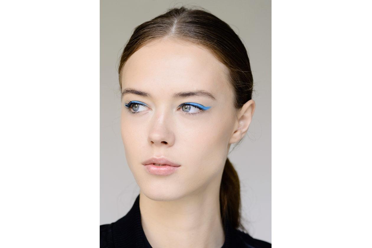 Trend make up S/S 2015: colorful eyeliner