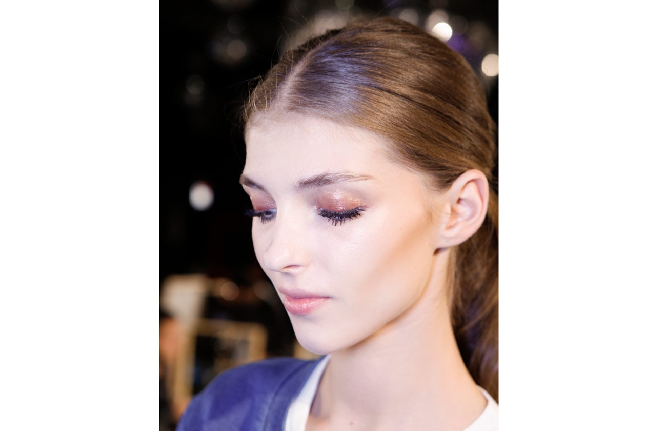Trend make up S/S 2015: glossy eyes
