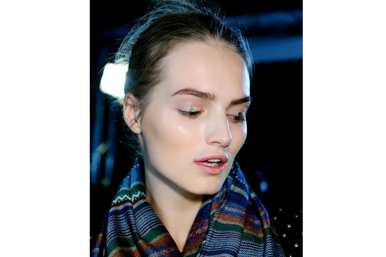 Trend make up S/S 2015: metallic accents